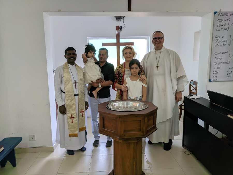 Shahk baptism